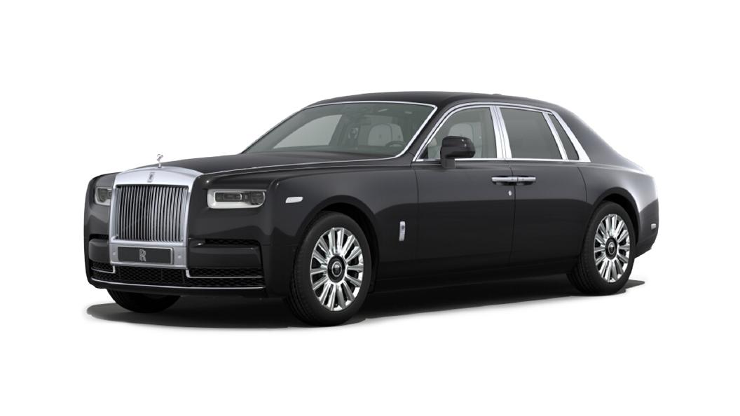 Rolls-Royce  Phantom Coupe Diamond Black Colour