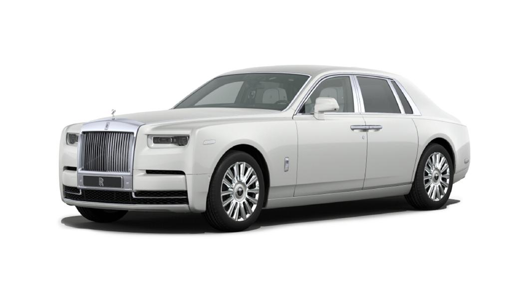 Rolls-Royce  Phantom Coupe English white Colour