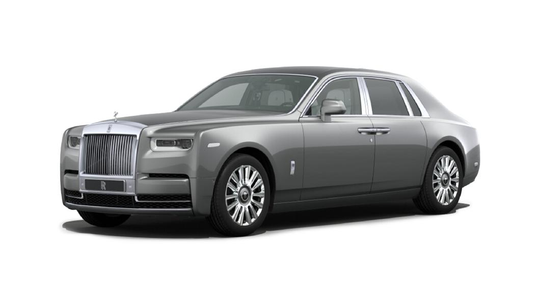 Rolls-Royce  Phantom Coupe Jubliee Silver Colour