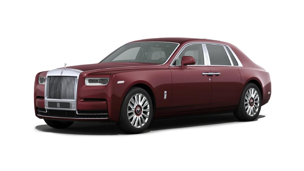 Rolls-Royce  Phantom Coupe Scala Red Colour