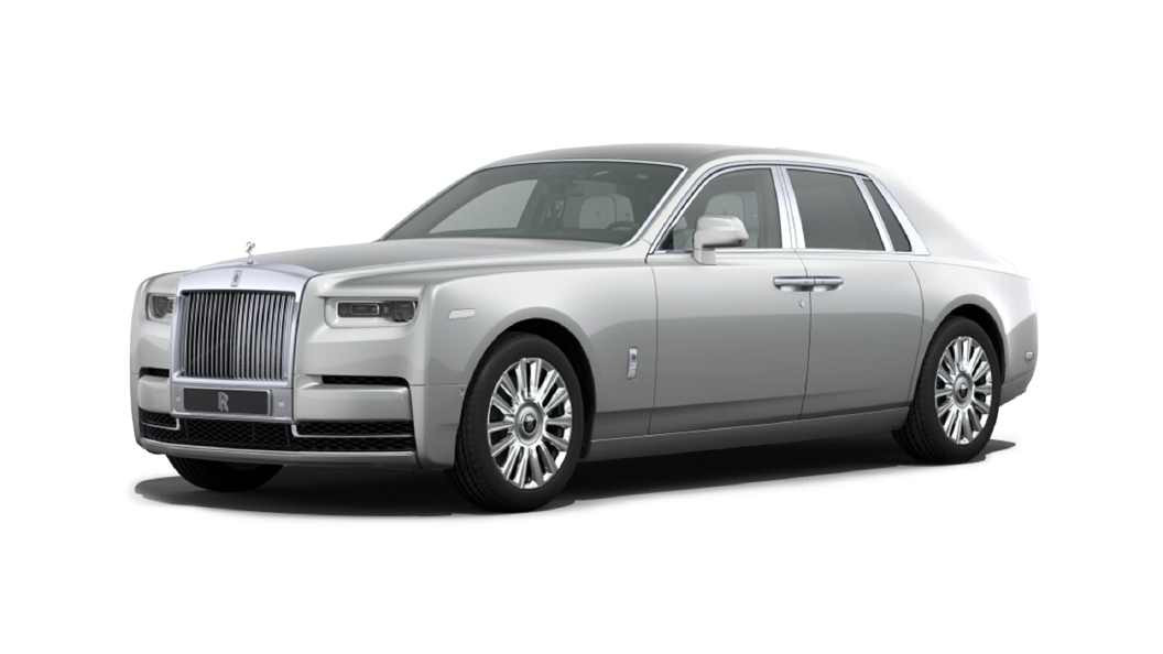 Rolls-Royce  Phantom Coupe Silver Colour
