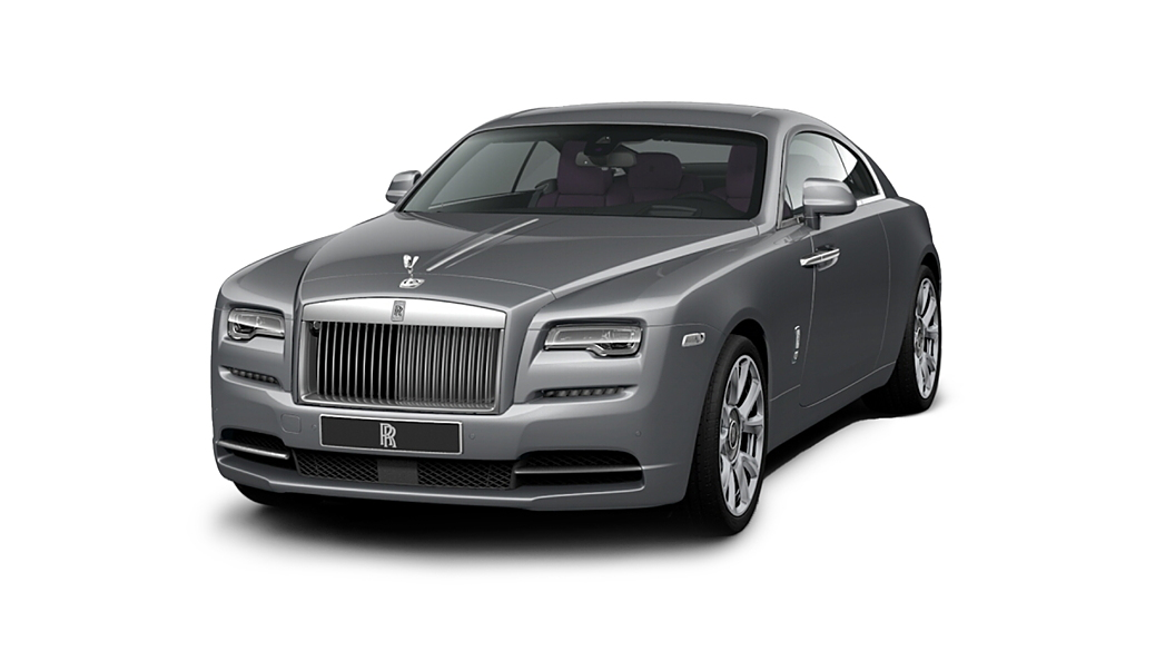 Rolls-Royce  Wraith  Jubilee Silver Colour