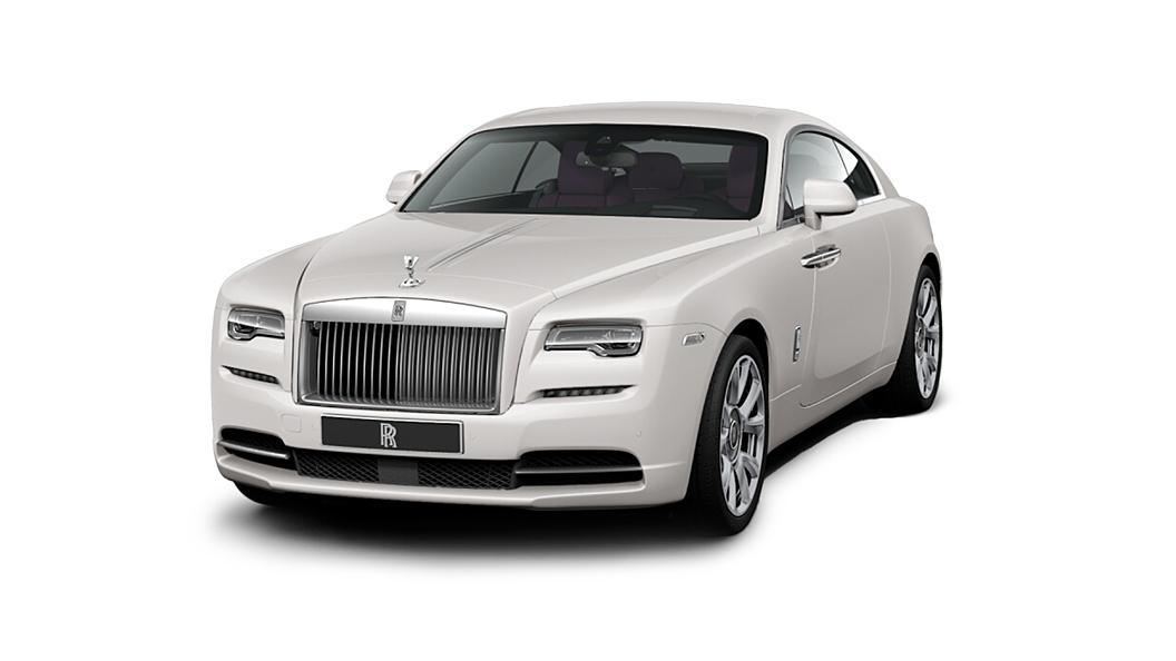 Rolls-Royce  Wraith Arctic White Colour