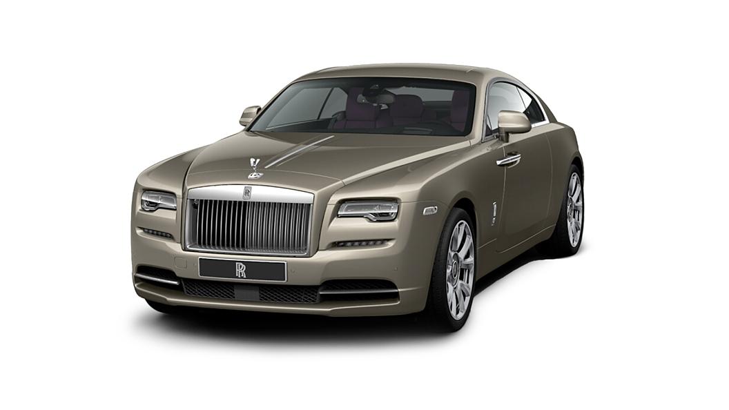Rolls-Royce  Wraith Petra Gold Colour
