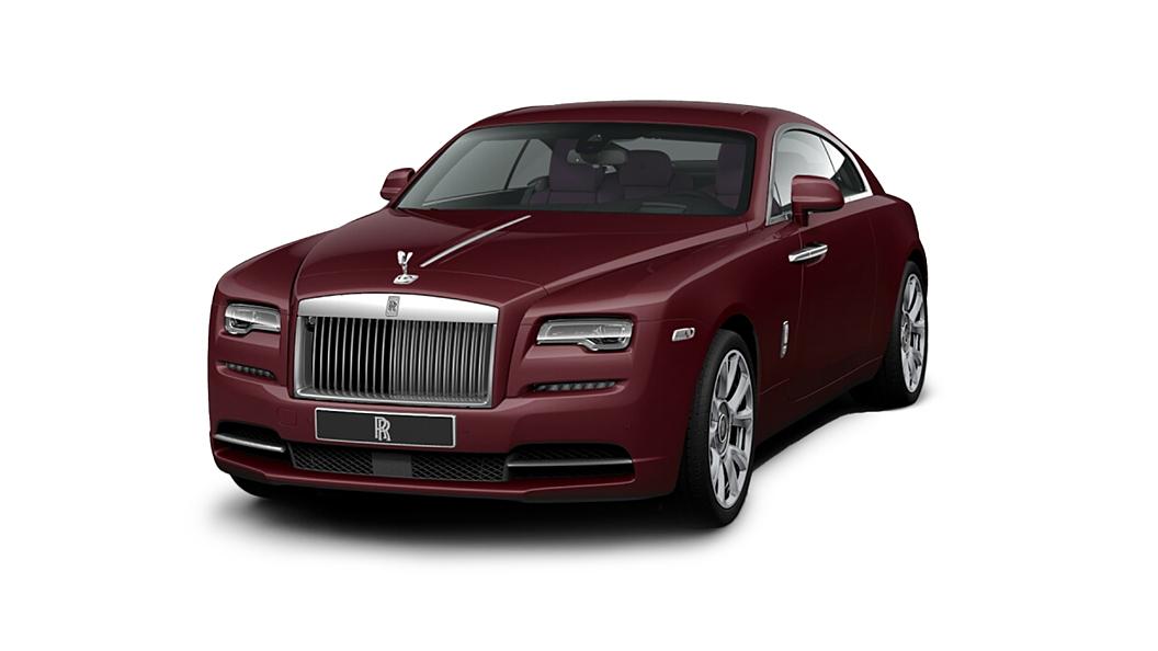 Rolls-Royce  Wraith Scala Red Colour
