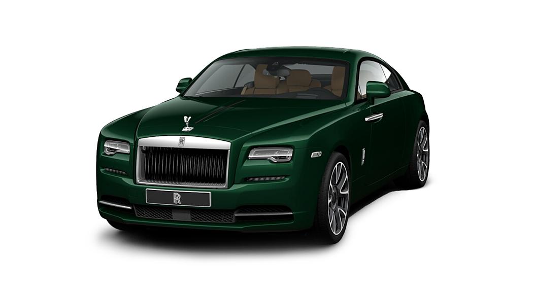 Rolls-Royce  Wraith Sea Green Colour