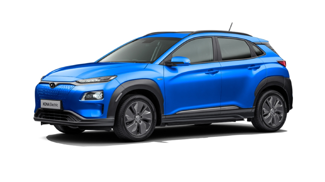 Hyundai  Kona Electric Marina Blue Colour