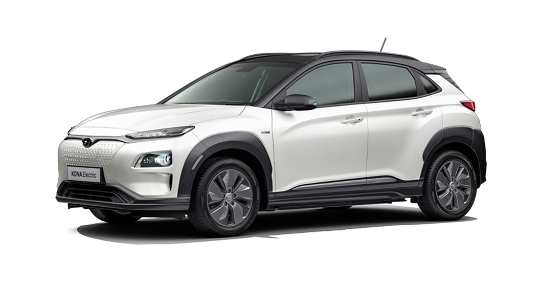 Hyundai  Kona Electric Polar White / Phantom Black Colour