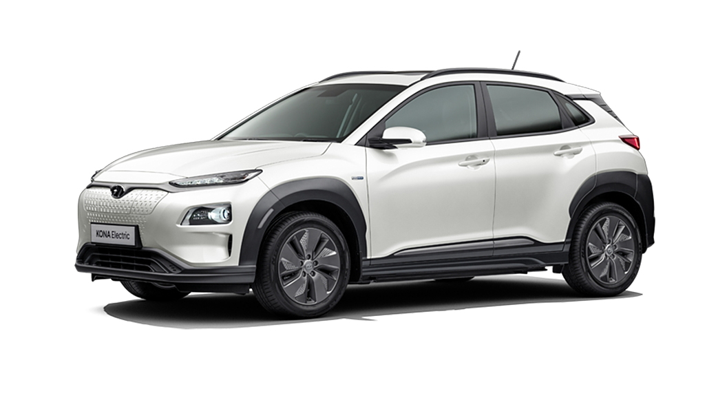 Hyundai  Kona Electric Polar White Colour