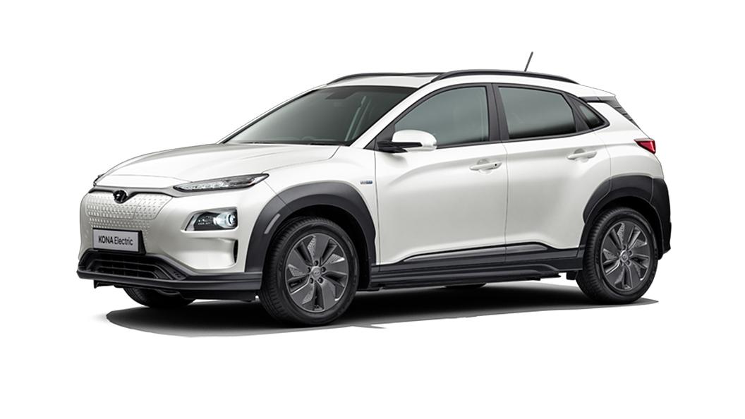 Hyundai  Kona Electric Polar White Colour