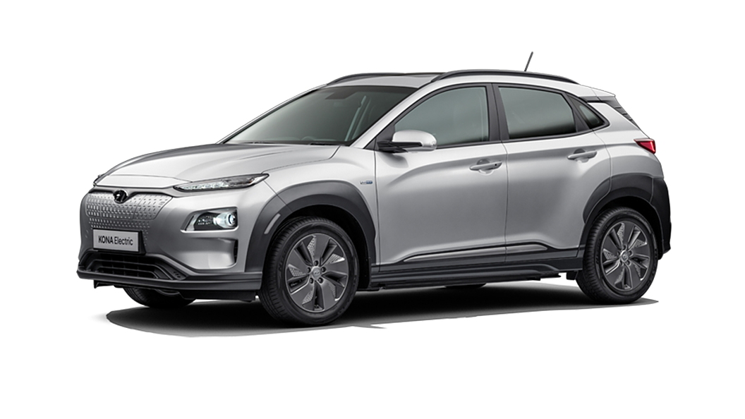 Hyundai  Kona Electric Typhoon Silver Colour