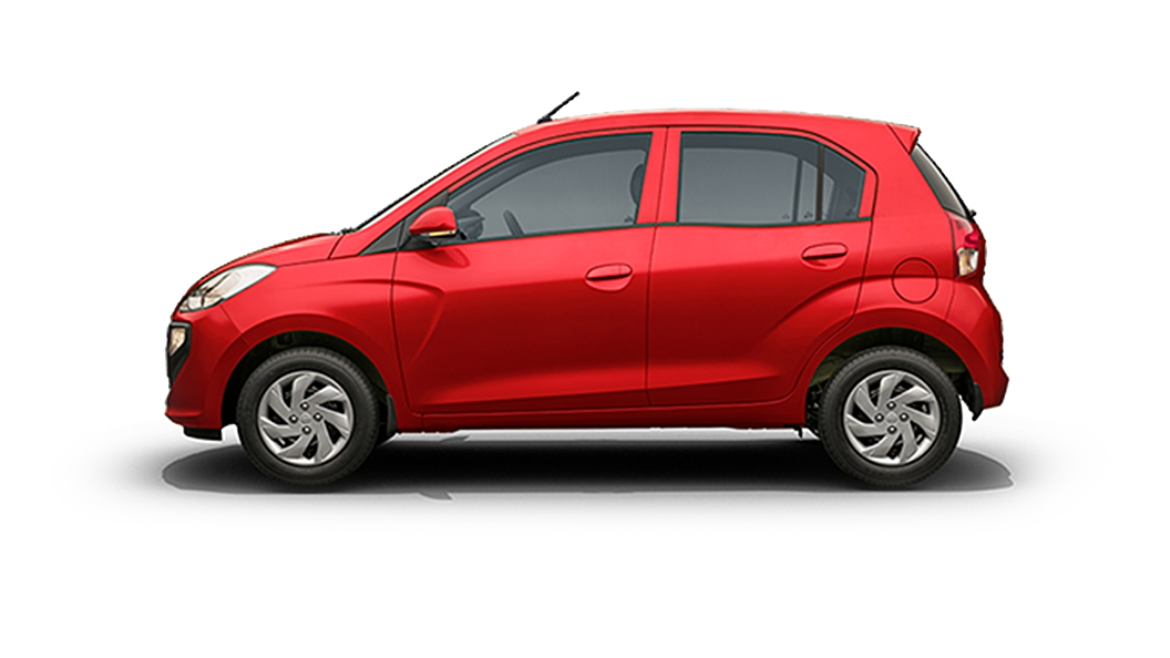 Hyundai  Santro Fiery Red Colour