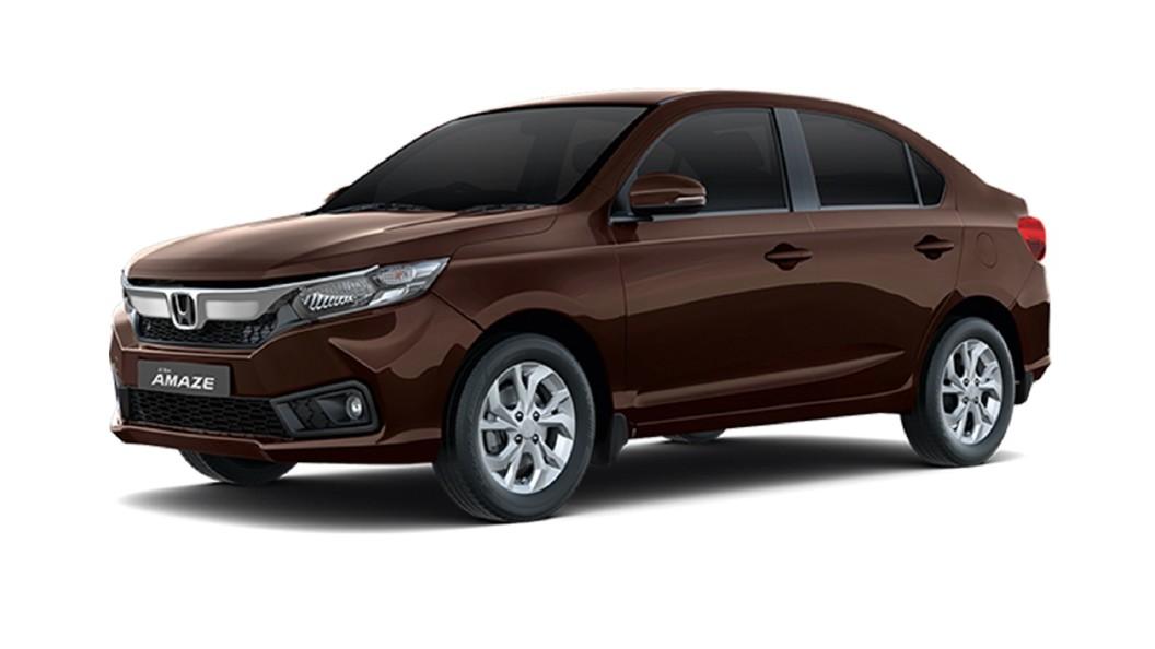 Honda  Amaze Golden Brown Metallic Colour