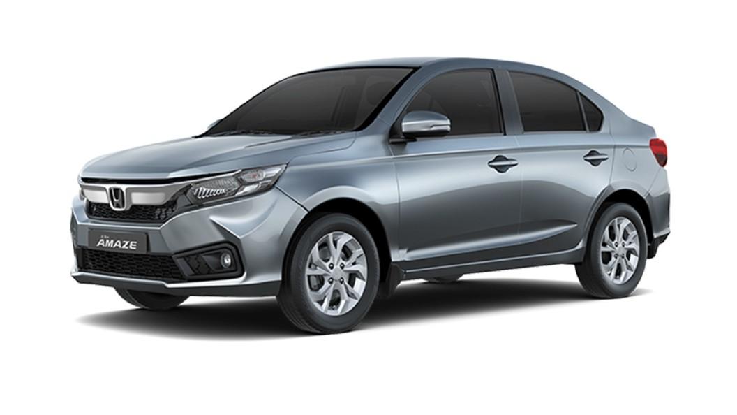 Honda  Amaze Lunar Silver Metallic Colour