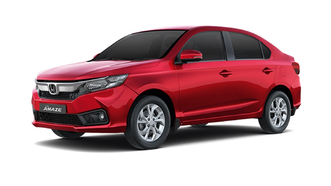 Honda  Amaze Radiant Red Colour