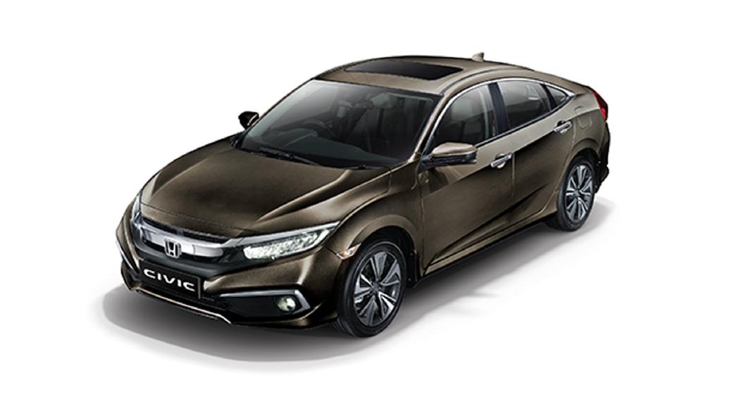 Honda  Civic Golden Brown Metallic Colour