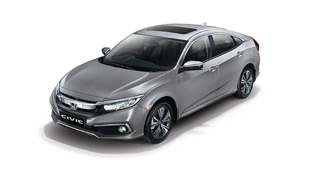 Honda  Civic Lunar Silver Metallic Colour