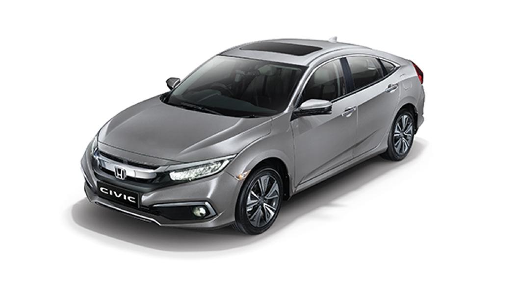 Honda  Civic Lunar Silver Metallic Colour