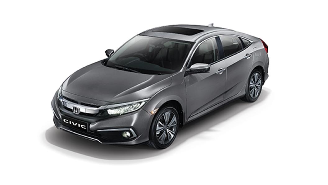 Honda  Civic Modern Steel Metallic Colour