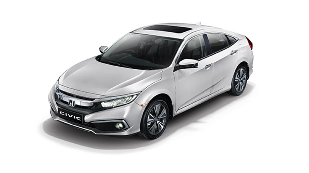 Honda  Civic Platinum White Pearl Colour