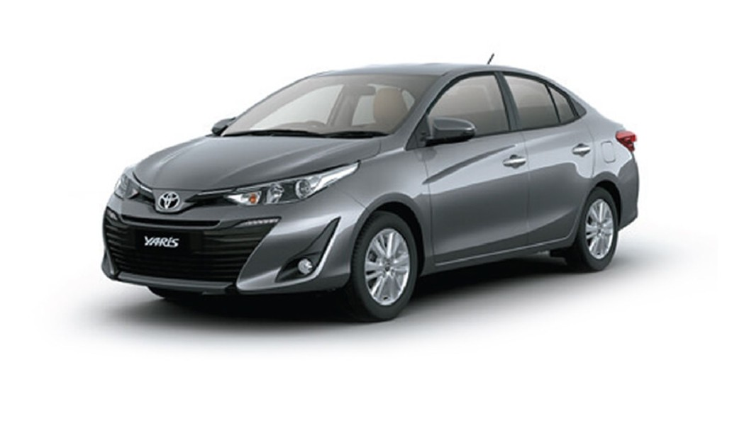 Toyota  Yaris Grey Metallic Colour
