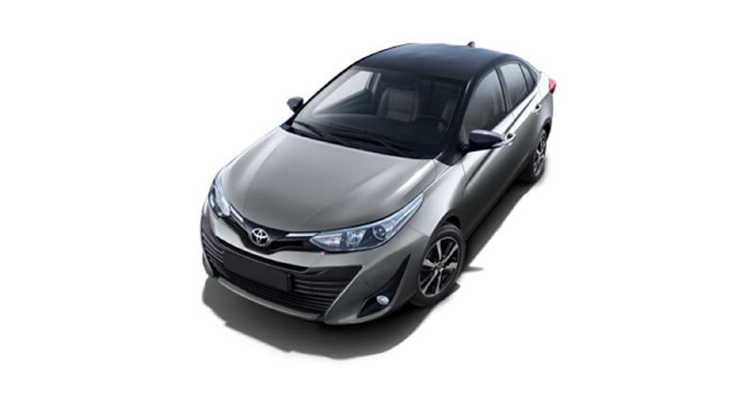Toyota  Yaris Grey Metallic/Attitude Black Colour