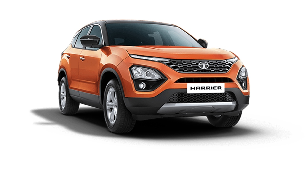 Tata  Harrier Calypso Red / Black Colour