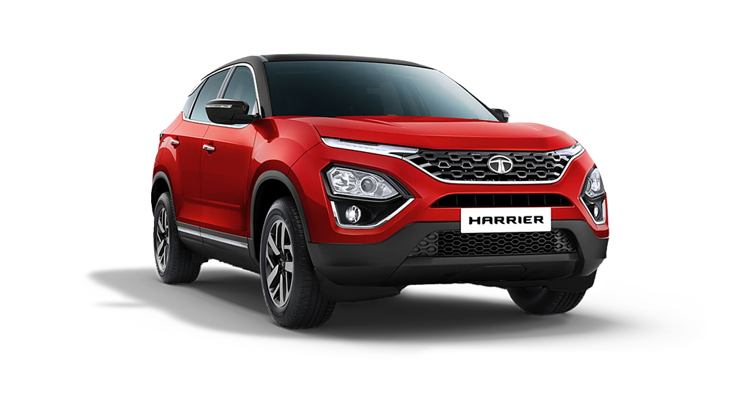 Tata  Harrier Calypso Red Colour