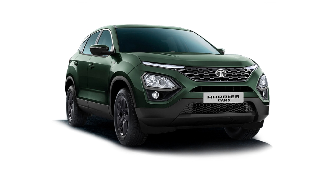 Tata  Harrier Camo Green Colour