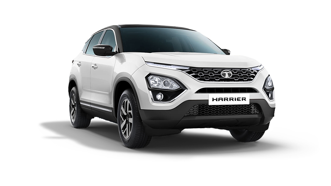 Tata  Harrier Orcus White Colour