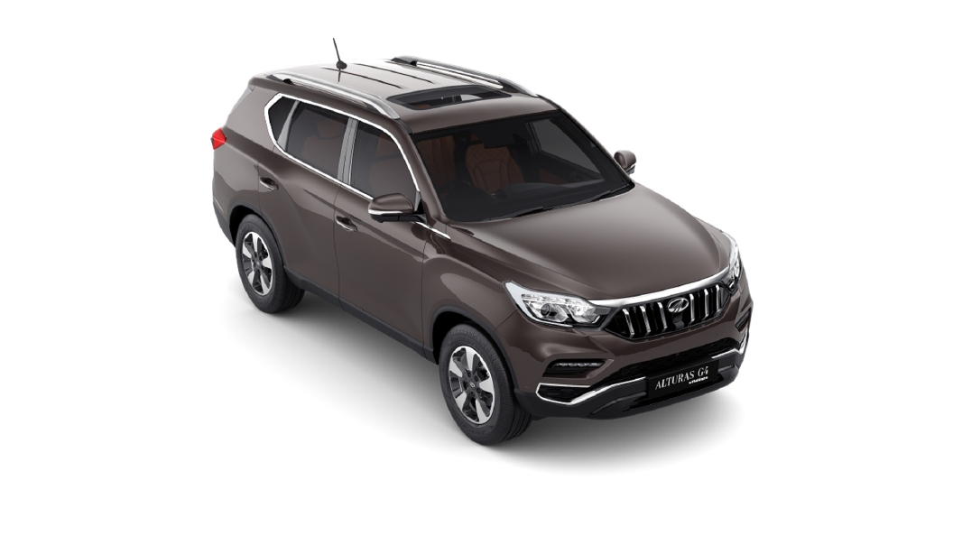 Mahindra  Alturas G4 LakeSide Brown Colour