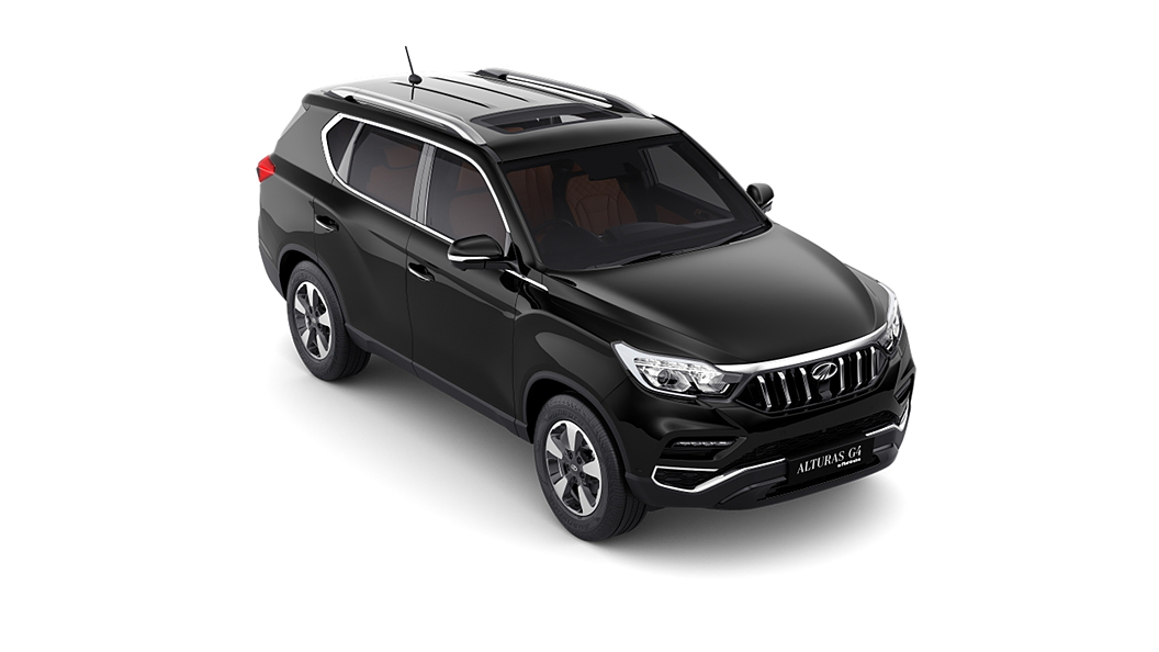Mahindra  Alturas G4 Napoli Black Colour