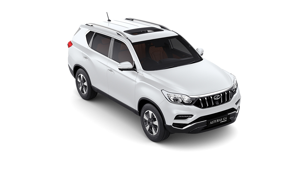 Mahindra  Alturas G4 Pearl White Colour