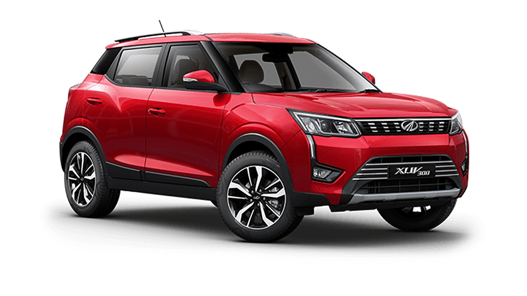 Mahindra  XUV300 Red Rage Colour