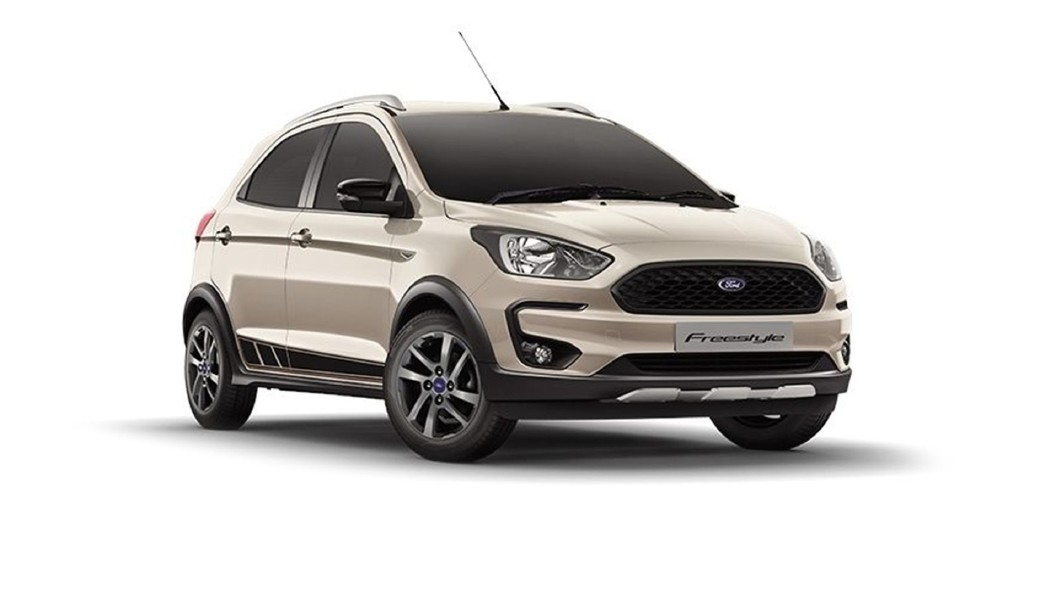 Ford  Freestyle White Gold Colour