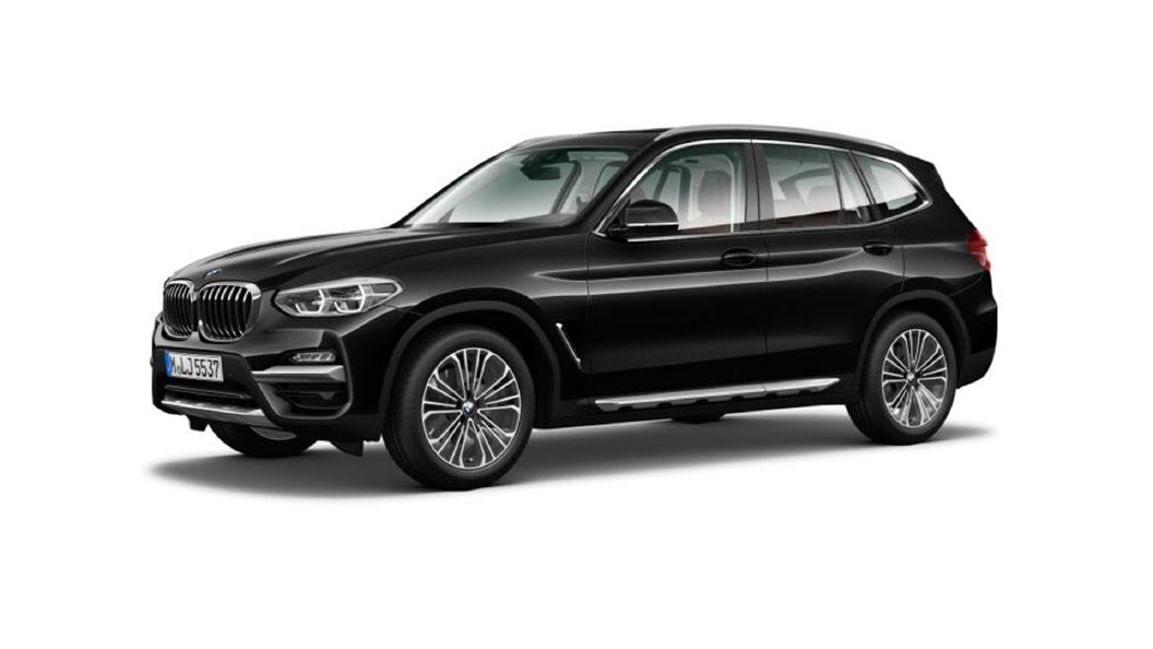 BMW  X3 Black Sapphire Colour