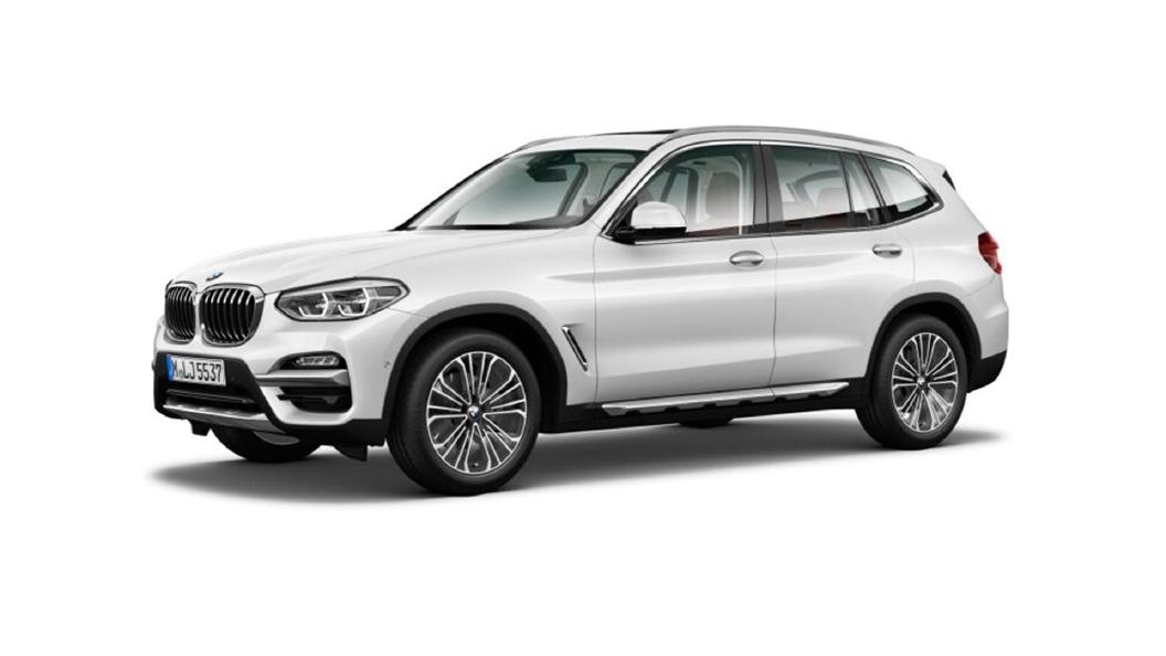 BMW  X3 Mineral White Colour
