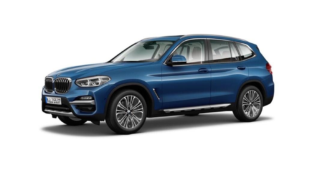 BMW  X3 Phytonic Blue Colour