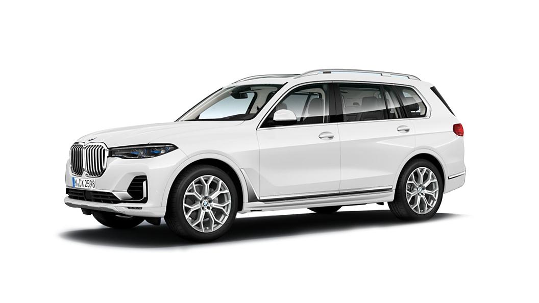BMW  X7 Alpine White Colour