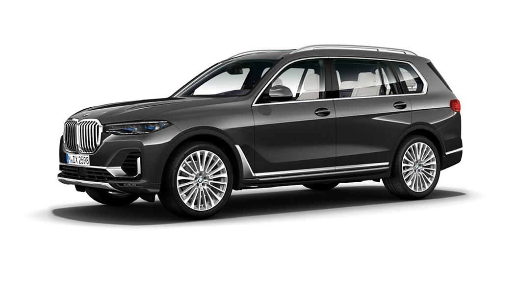BMW  X7 Arctic Grey Brilliant Effect Metallic Colour