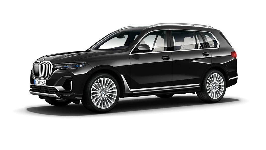 BMW  X7 Black Sapphire Metallic Colour