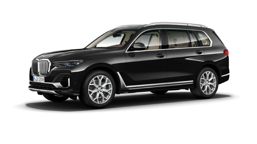 BMW  X7 Carbon Black metallic Colour