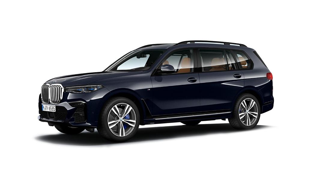 BMW  X7 Carbon Black Colour