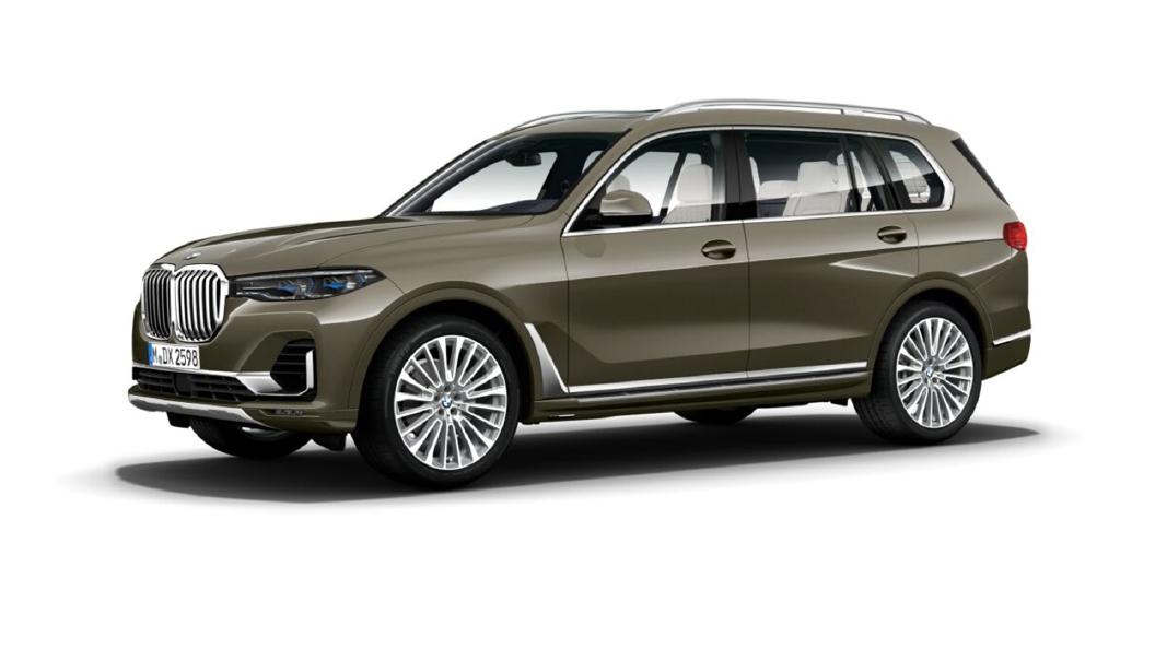 BMW  X7 Manhattan metallic Colour