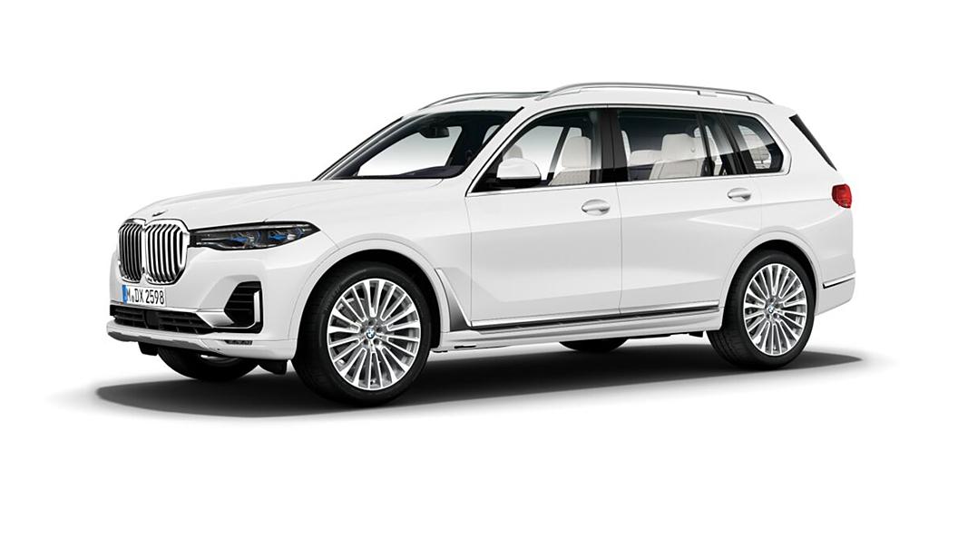 BMW  X7 Mineral White Metallic Colour