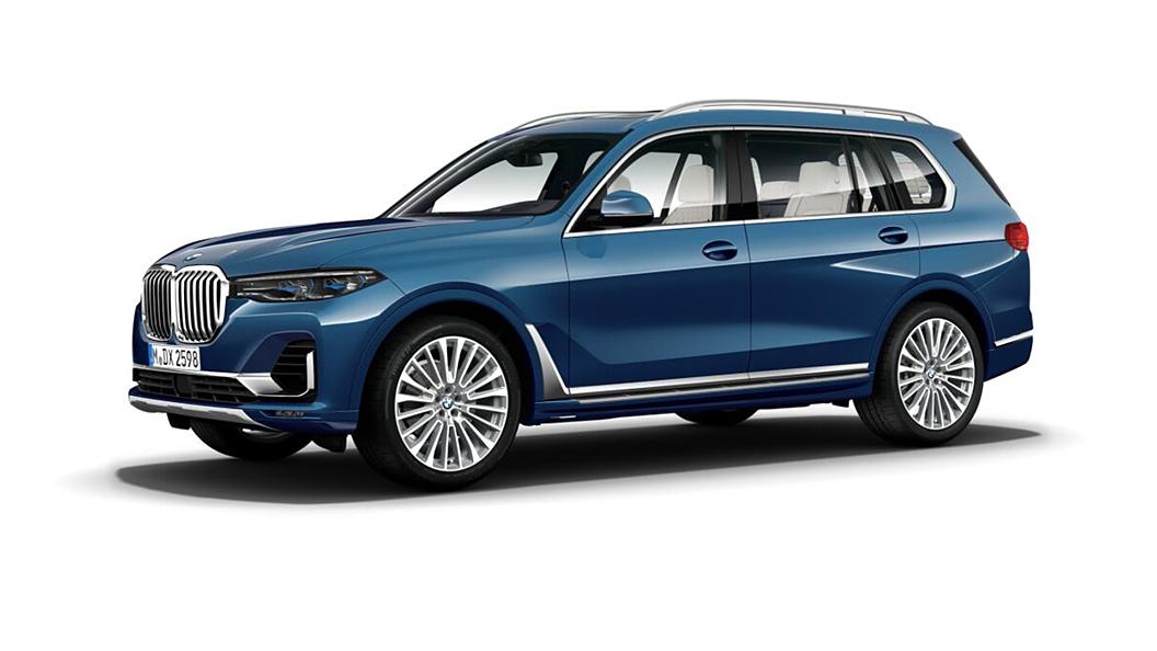 BMW  X7 Phytonic Blue Metallic Colour