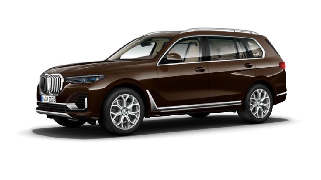 BMW  X7 Terra Brown Metallic Colour