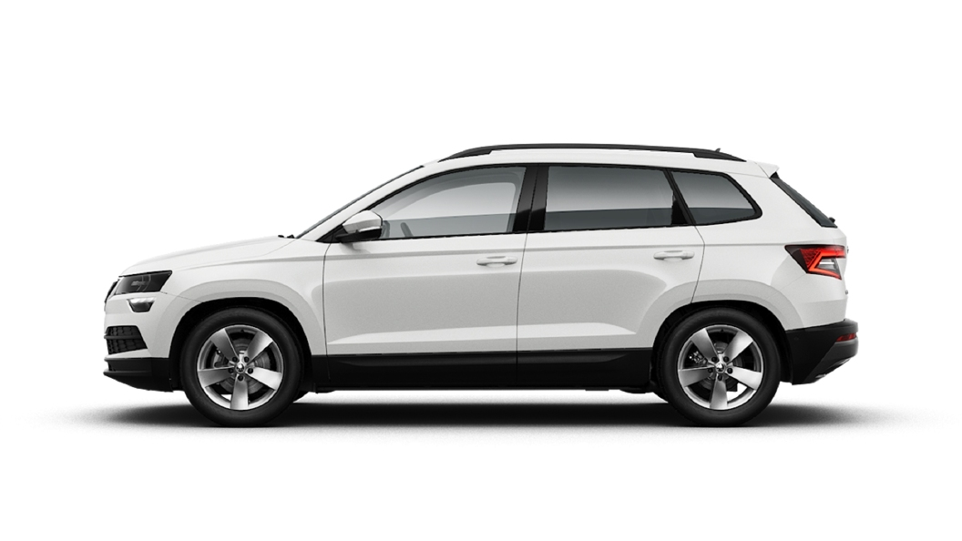 Skoda  Karoq Candy White Colour