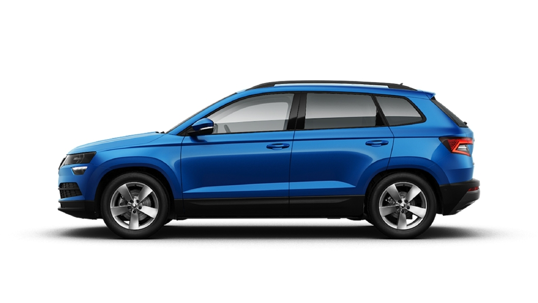 Skoda  Karoq Lava Blue Colour