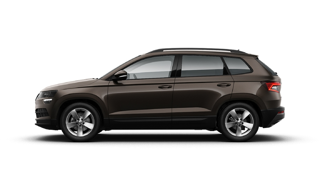 Skoda  Karoq Magnetic Brown Colour
